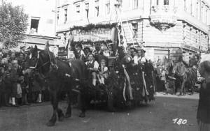 10. Oktober Umzug in Klagenfurt 1948