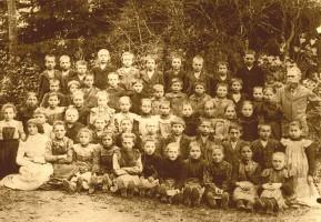 ca. 1901 Volksschule Krumpendorf