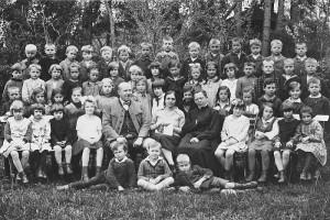ca. 1927 Volksschule Krumpendorf
