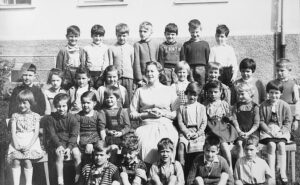 Klassenfoto 1961 1. Klasse VS Krumpendorf
