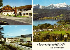 Mehrbildkarte Krumpendorf 1975