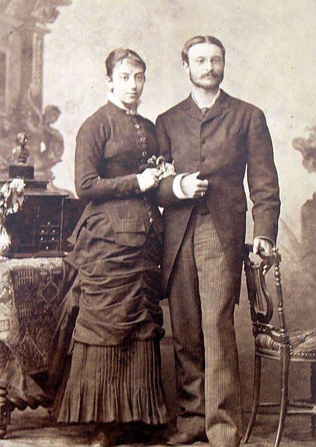 Max und Anna Schindler von Kunewald (Foto: Jaroslav Zezulcik, Museum Kunin)