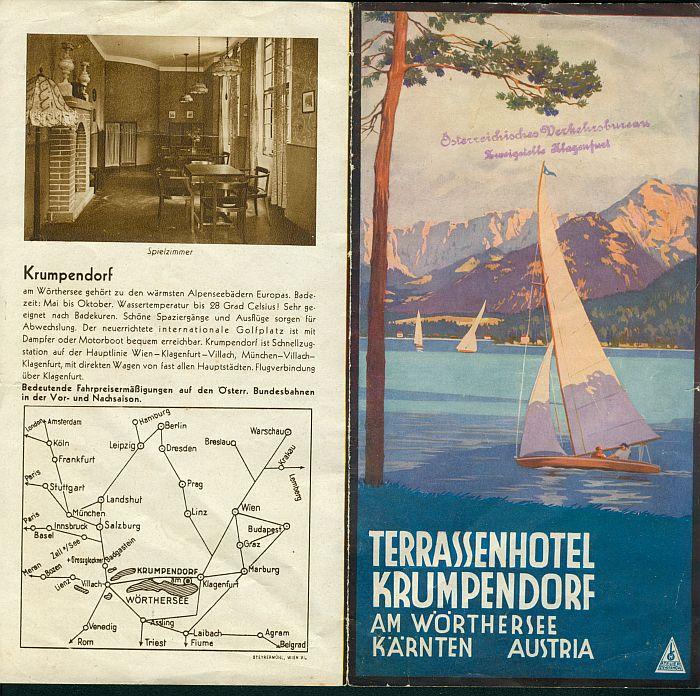 Prospekt Terrassenhotel 1 1930er Jahre