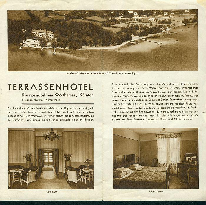 Prospekt Terrassenhotel 2 1930er Jahre