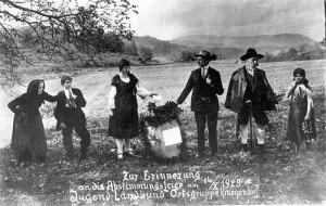 Abstimmungsfeier 1928