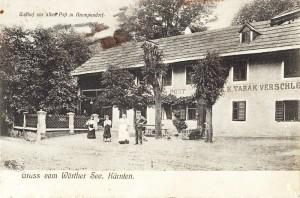 Gasthof zur Alten Post in Krumpendorf ca. 1900