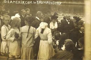 Amerikanische Kommission in Krumpendorf 1920