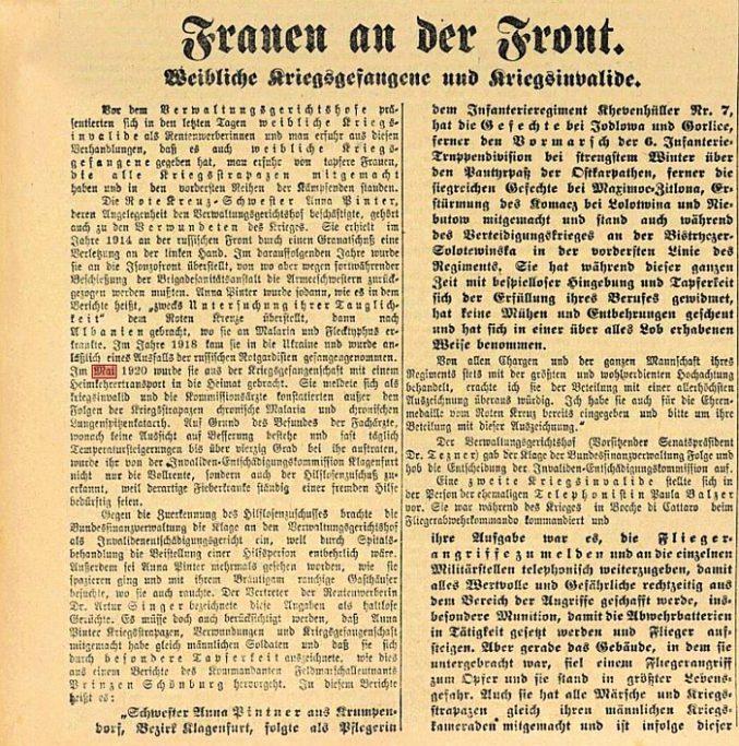 Artikel aus Neues Wiener Journal vom 14.5.1924