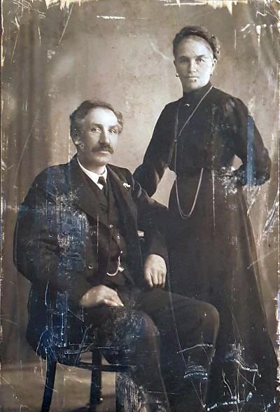 Annys Eltern Andreas und Anna Pinter