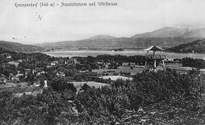 Aussichtsturm Krumpendorf 1912