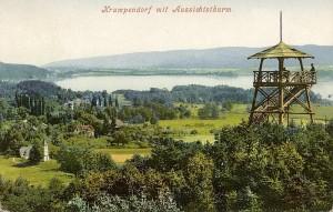 Aussichtsturm Krumpendorf 1908