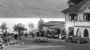 Bad Kropfitsch Detail aus Ansichtskarte 1940