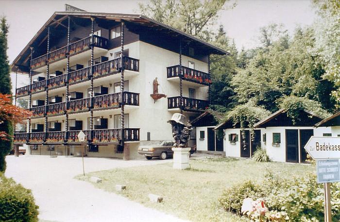 Bad Kropfitsch Hotelgebäude ca. 1970