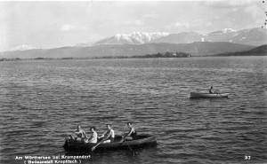 Bad Kropfitsch Ruderboot 1926