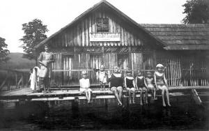 Badeanstalt Leinsdorf 1905