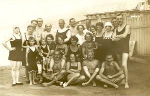 Badegruppe Bad Roßbacher 1925