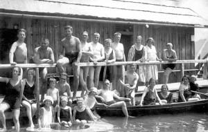 Badegruppe Bad Stich 1926