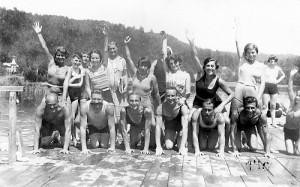 Badegruppe Terrassenhotelbad 1928
