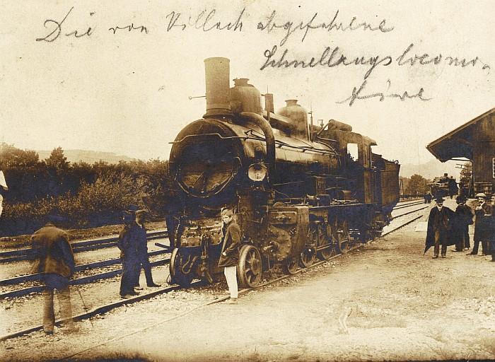 Eisenbahnunglück Krumpendorf 1906