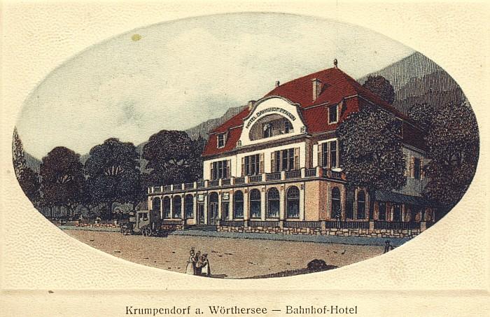 Bahnhofhotel in Krumpendorf