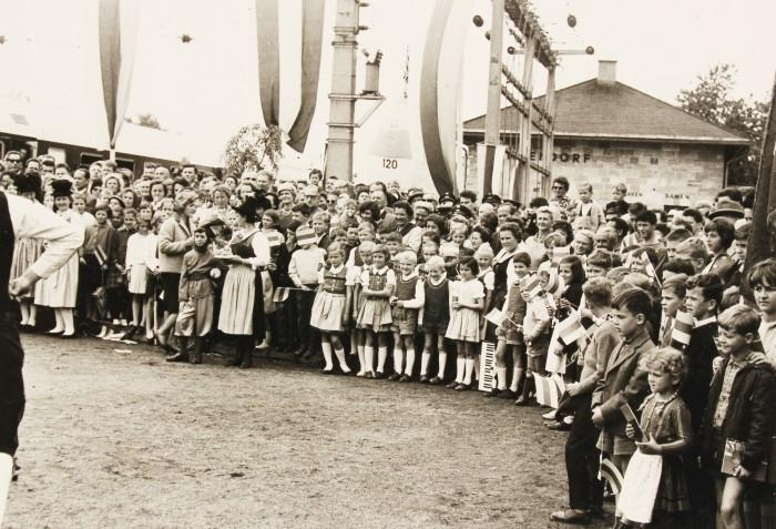 100-Jahr Feier Eisenbahn Klagenfurt - Villach 1964