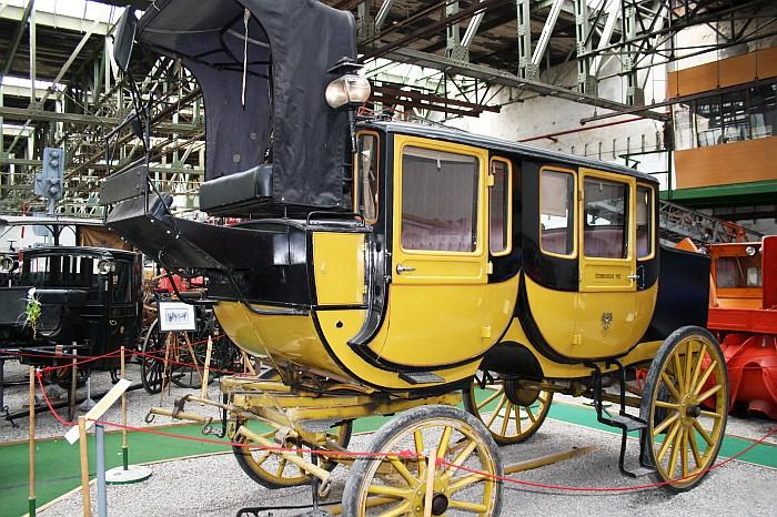Stellwagen der Österreichischen Post