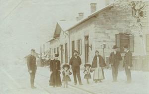 Bahnhof Krumpendorf 1904