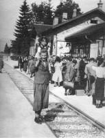 Bahnhof Krumpendorf 1940