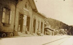 Bahnhof Krumpendorf 1940er Jahre