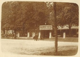 Bahnhofhotel ca. 1905
