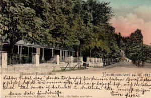 Bahnhof-Restauration Krumpendorf 1903
