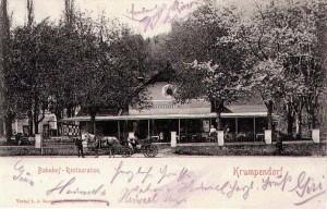 Bahnhofsrestauration 1902