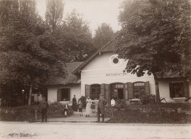 Bahnhofsrestauration 1890