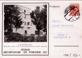 Bahnhotel 1932