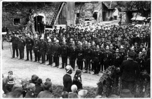 Bezirksfeuerwehrtreffen beim Gasthof Koch 1926