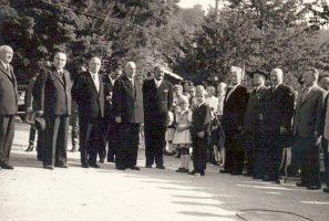 Bundespräsident Adolf Schärf 1957