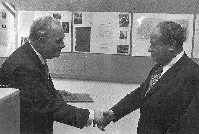 Dinklage und Kreisky 1976
