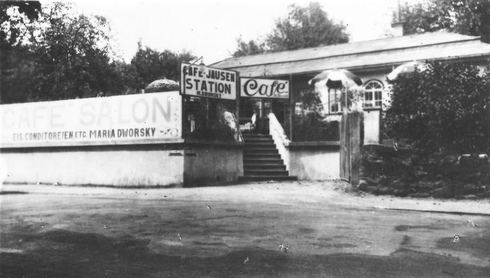 Café Salon Maria Dworsky ca. 1928
