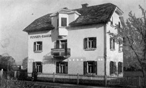 Pension Egger 1930er Jahre