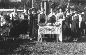 Erntedankfest Krumpendorf 1949