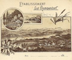 Etablissement Gut Krumpendorf 1890er