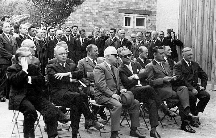 Einweihung des Gerätehauses 1963