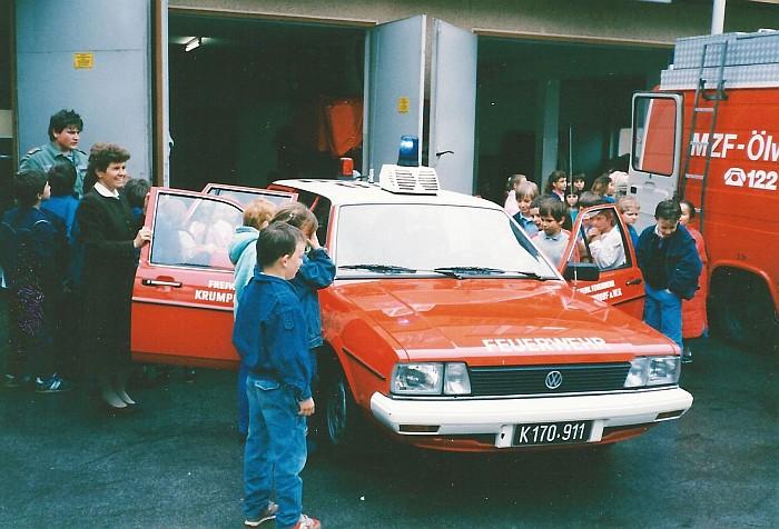 Alarmübung Volksschule 1988