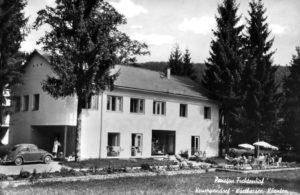 Pension Fichtenhof 1961