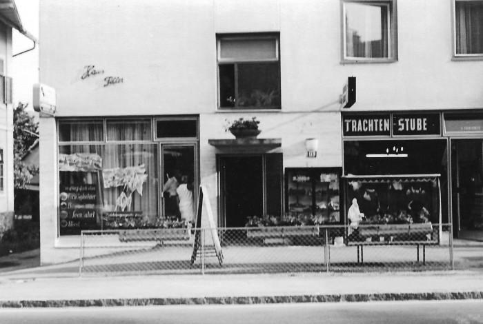 Haus Filler Geschäftslokale 1960er