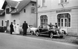 Hochzeit im Gemeindeamt Krumpendorf 1954