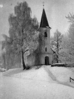 Georgskirche im Winter 1938