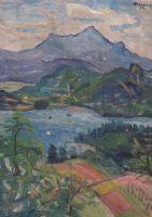 Elisabeth Guttenberg-Sterneck, Faaker See, 1954