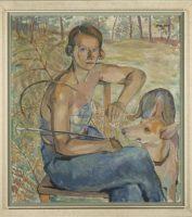 Elisabeth Guttenberg-Sterneck, Selbstportrait, 1935