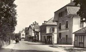 Hauptstraße 1930er Jahre